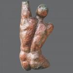 Uomo (54x25cm) Raku